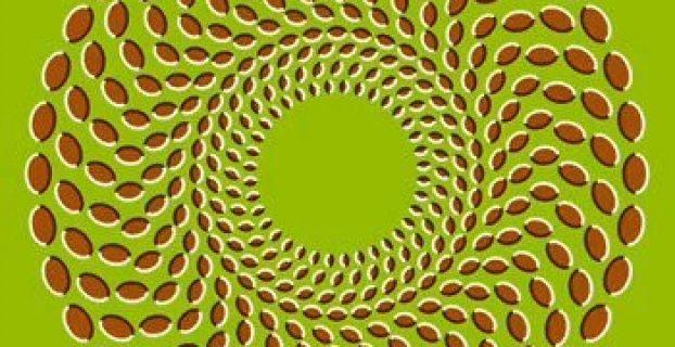 ilusión óptica de movimiento