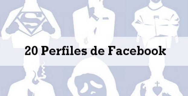 los perfiles de facebook