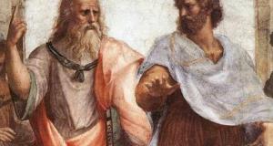 foto de Platón y Aristóteles