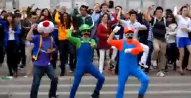 Super Mario Gangnam Style