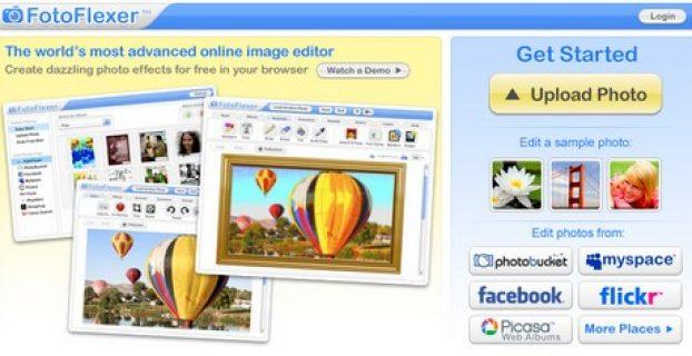 fotoflexer homepage