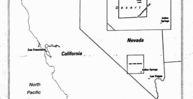 mapa area 51