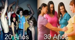 Generación de los 20 años VS Generación de los 30 años